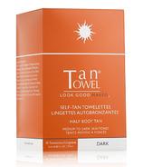 Tan Towel Half Body Dark