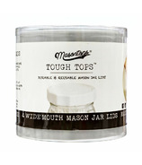 Masontops Tough Top Plastic Lids Wide Mouth