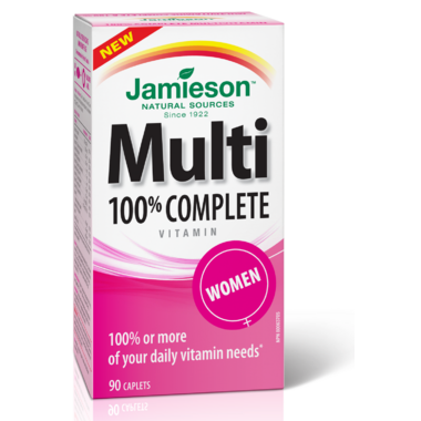 Jamieson Multi 100% Complete Vitamin for Women