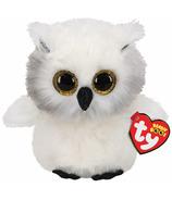 Ty Beanie Boo's Austin The White Owl Regular