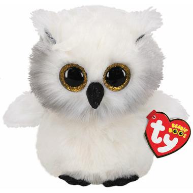 Ty Beanie Boo\'s Austin The White Owl Regular