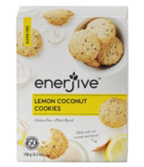 Enerjive Lemon Coconut Cookies