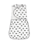 Nest Designs Organic Cotton Swaddle Sleep Bag 2.5 TOG Panda Party Small