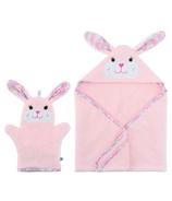 ZOOCCHINI Beatrice The Bunny Bath Mitt + Towel Bundle