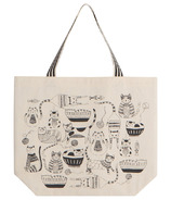 Now Designs Bag Tote Purr Party