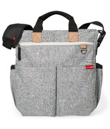 Skip Hop Duo Signature Diaper Bag Grey Melange