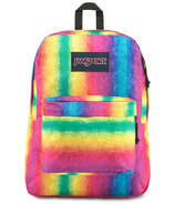 JanSport Super Break Rainbow Sparkle