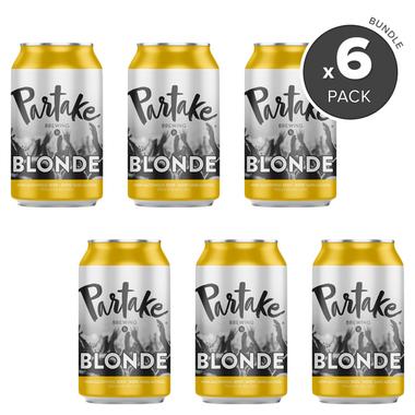 Partake Brewing Blonde Nonalcoholic Craft Beer Bundle