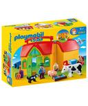 Playmobil 1.2.3. My Take Along Farm