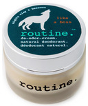 Routine De-Odor-Cream Natural Deodorant in Like a Boss Trial Size