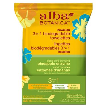 Alba Botanica Hawaiian 3-in-1 Towelettes