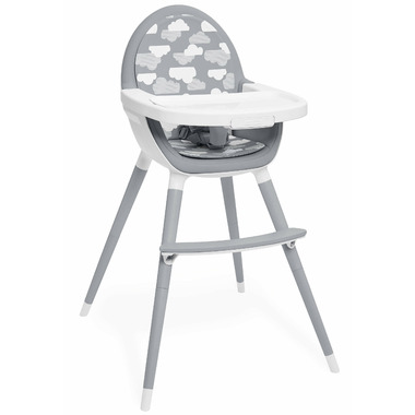 Skip Hop Tuo Convertible High Chair Grey Cloud