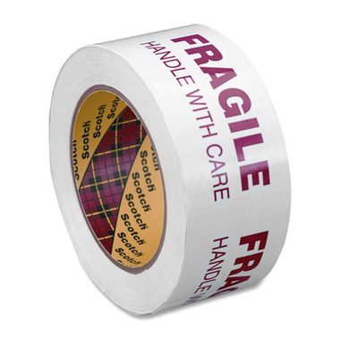 3M Scotch Printed Message Box Sealing Tape