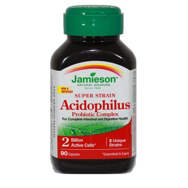 Jamieson Super Strain Acidophilus Probiotic Supplement