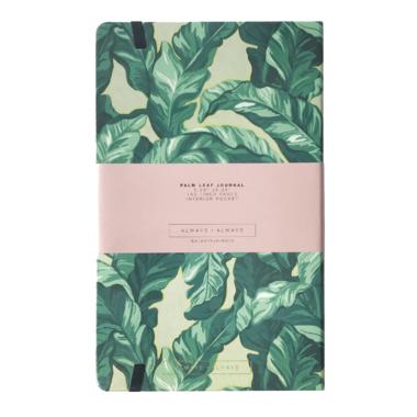 ALWAYSxALWAYS Palm Leaf Journal