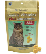 Naturvet Senior Vitamins Plus Glucosamine Soft Chews