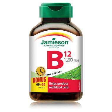 Jamieson Vitamin B12 Timed Release
