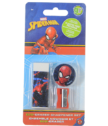 greenre Eco-Marvel Spiderman Eraser Set