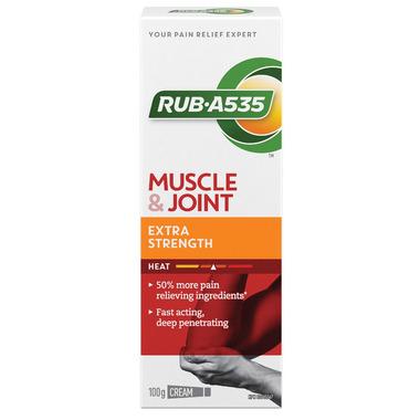 Rub A535 Extra Strength Heating Cream