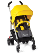 Diono Flexa Super-Compact City Stroller Yellow Sulphur
