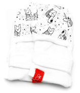 goumikids Wee Gallery Collection Faces in the Stars Mitts