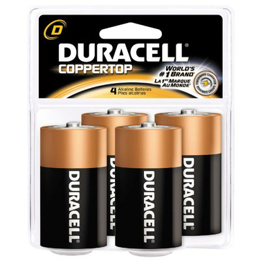 Duracell Coppertop D Batteries