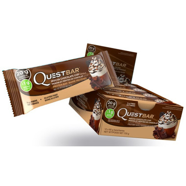 Quest Nutrition Mocha Chocolate Chip Protein Bars