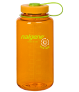 Nalgene 32 Ounce Sustain Wide Mouth Clementine