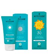 ATTITUDE Sunscreen SPF 30 & After Sun Bundle