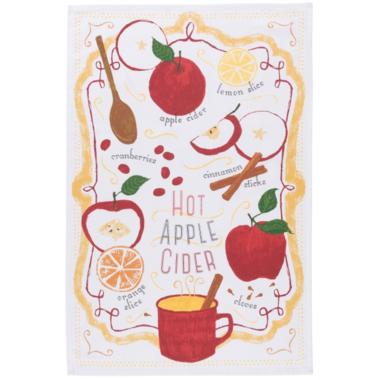 Now Designs Hot Apple Cider Dish Towel