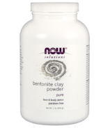 NOW Solutions Bentonite Clay Powder