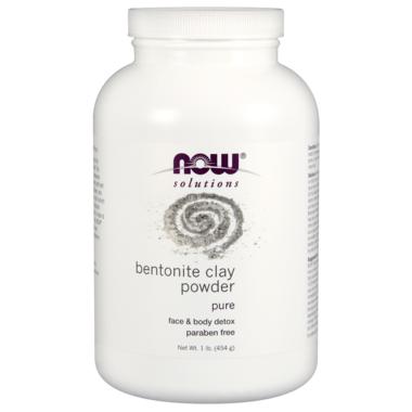 NOW Solutions Bentonite Clay Powder