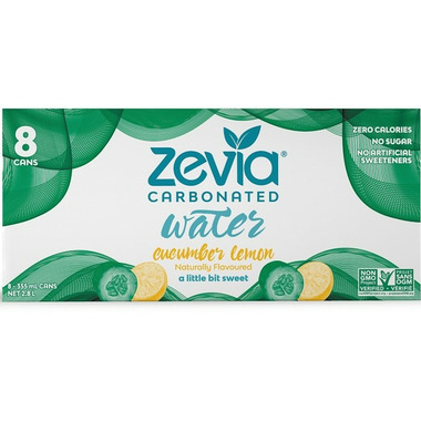 Zevia Cucumber Lemon Sparkling Water
