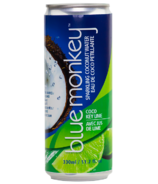 Blue Monkey Key Lime Sparkling Coconut Water