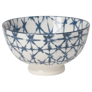 Now Design Bowl Stamped Shibori Dessert