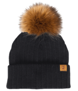 Headster Classy Black Beanie