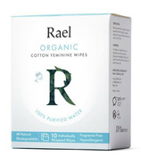 Rael Organic Cotton Feminine Wipes