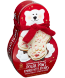 Saxon Chocolates Peppermint Polar Paws Bark Tin