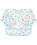 Bumkins Sleeved Bib Raindrops