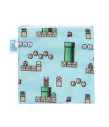 Bumkins Nintendo Reusable Snack Bag Large Super Mario 8- Bit