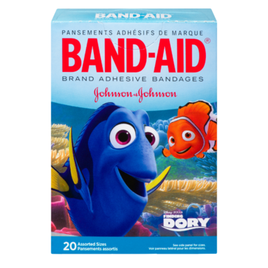 Band-Aid Brand Adhesive Bandages Finding Dory