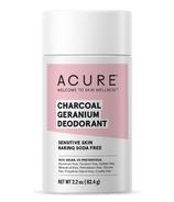 Acure Deodorant Geranium & Charcoal