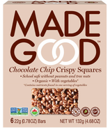 MadeGood Chocolate Chip Crispy Squares