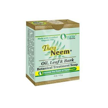 TheraNeem Neem Oil, Leaf & Bark Botanical Cleansing Bar