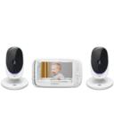 Motorola Comfort 50 Baby Monitor Twin Cameras