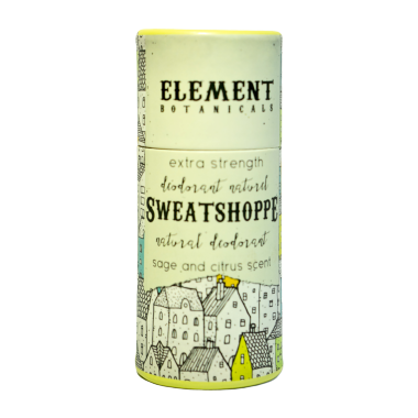 Element Botanicals Sweatshoppe Natural Deodorant