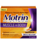 Motrin Platinum Muscle & Body