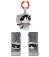Diono Harness Soft Wraps & Linkie Toy Raton Laveur Personnage