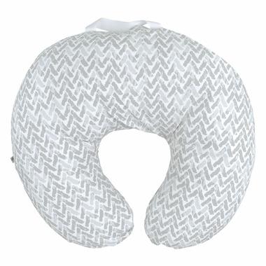 Perlimpinpin Nursing Pillow Grey Chevron