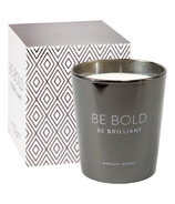 Eccolo Candle Metallic Black Be Bold Midnight Jasmine